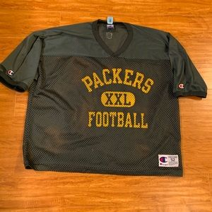 Vintage Green Bay Packers Champion Jersey